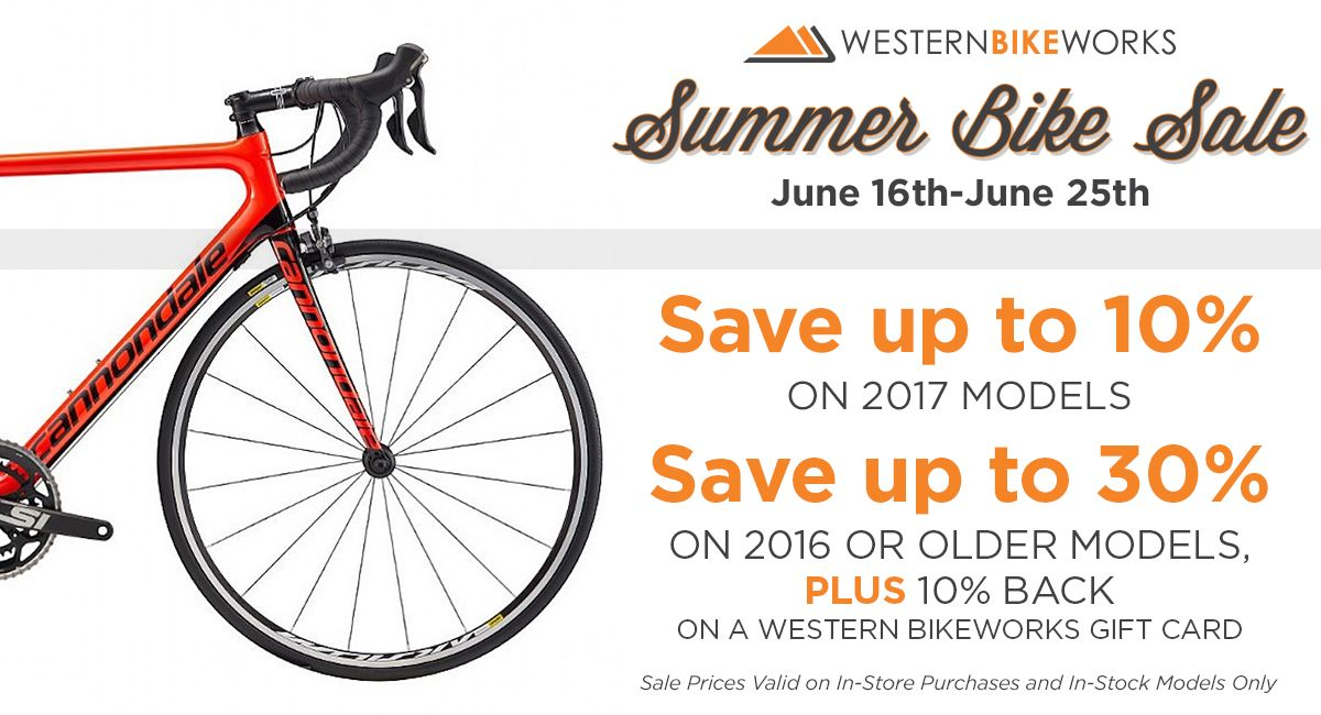 2017 Summer Bike Sale