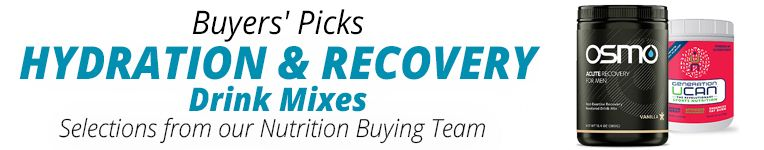 Buyers Picks - Hydration & Recovery Drink Mixes