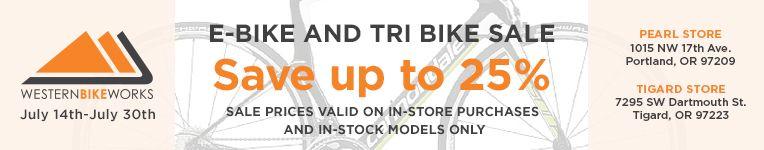2017 EBike and Tri Bike Sale