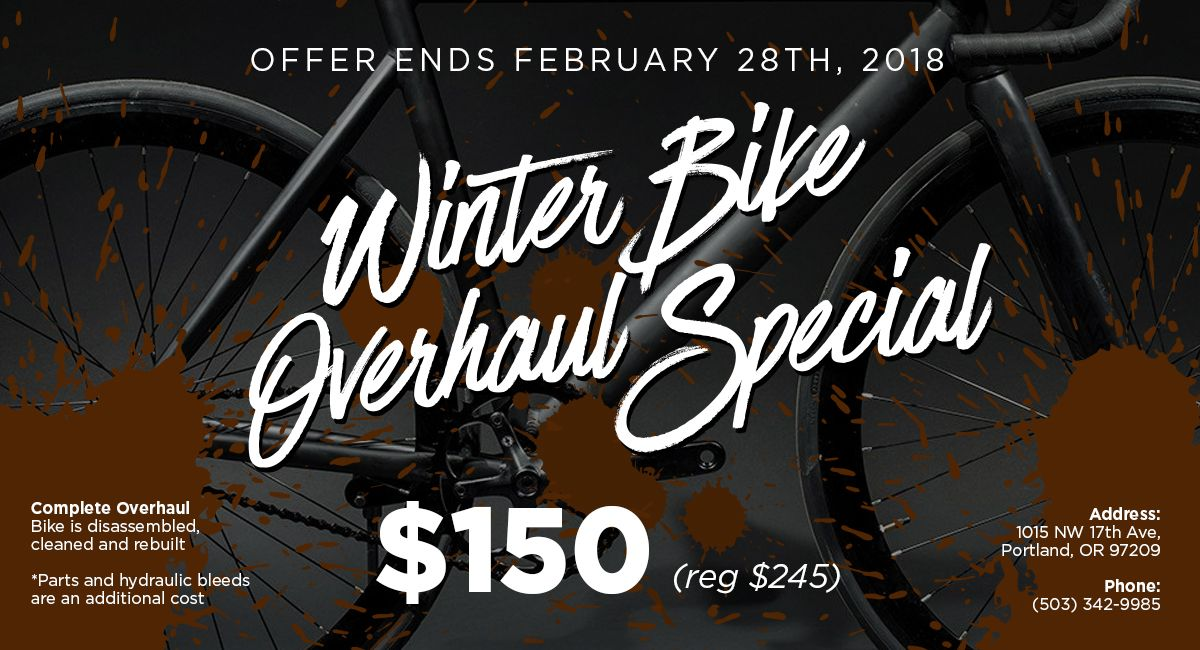 2018 Winter Overhaul Special